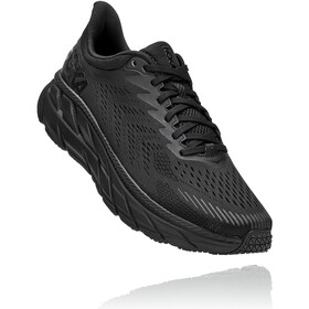 Hoka One One Clifton 7 Running Shoes Men, black/black